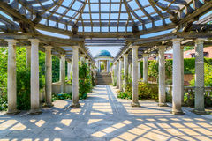 Hampstead Pergola and Hill Garden Royalty Free Stock Images