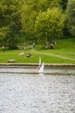 Hampstead wrzosowisko Zdjęcia Royalty Free