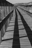 Hampton Boardwalk sul fotografia de stock