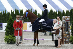 Hampton Classic Horse Show Stock Photo