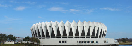 Hampton Coliseum Royalty Free Stock Photography