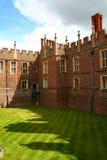 Hampton court. Buildings Hampton court London UK Royalty Free Stock Photo