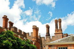 Hampton court chimneys Stock Images
