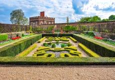 Hampton Court cultiva un huerto en la primavera, Londres, Reino Unido imagen de archivo libre de regalías