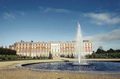 Hampton Court en Londres, Reino Unido Imagen de archivo
