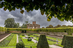 Hampton Court Garden Stock Image