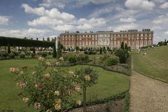 Hampton Court Gardens royalty free stock photos