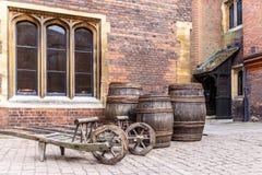 Hampton Court nel giorno di estate Fotografia Stock Libera da Diritti