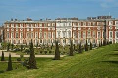 Hampton Court pałac, Anglia, UK obraz stock