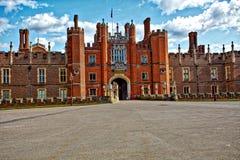 Hampton Court pałac Anglia obrazy stock