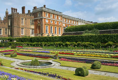 Hampton Court Palace Lizenzfreies Stockfoto