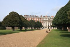 Hampton Court Palace Royalty Free Stock Photos