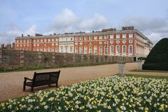 Hampton Court Palace Stock Image
