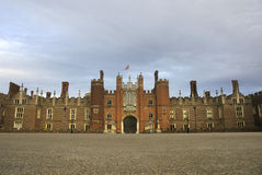 Hampton Court Palace. This Royal Palace on the banks of the river Thames was built for King Henry VIII Royalty Free Stock Photography