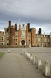 Hampton Court Palace. The Tudor home of King Henry VIII, and his many wives Royalty Free Stock Photo