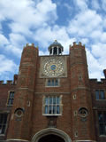 Hampton Court palace astronomical clock Stock Photo