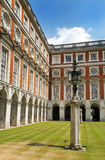Hampton Court Palace Courtyard, London Stock Photography