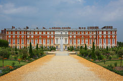 Hampton Court Palace in England Royalty Free Stock Photo