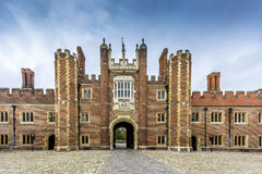 Hampton Court Palace Front Royalty Free Stock Photography