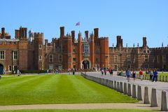 Hampton Court Palace Royalty Free Stock Image