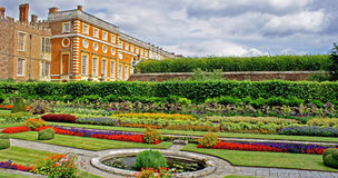 Hampton Court Palace gardens Stock Image