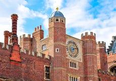 Hampton Court Palace a Richmond, Londra, Regno Unito immagine stock