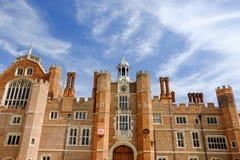 Hampton Court-Palast, Richmond, Großbritannien lizenzfreie stockbilder