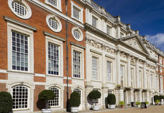 hampton dworski pałac Zdjęcie Royalty Free