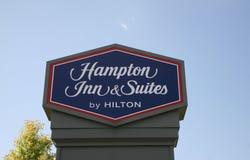 Hampton Inn & séries imagem de stock