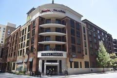 Hampton Inn & séries, Nashville do centro, TN fotos de stock royalty free