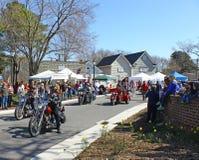Hampton Roads Harley Zdjęcie Royalty Free