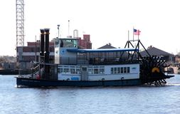 Hampton Roads Marine Transit Ferry Royalty-vrije Stock Foto