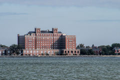 Hampton Virginia Waterfront Brick Architecture Foto de archivo