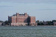 Hampton Virginia Waterfront Brick Architecture Stock Photo