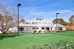 Hamptons style home stock image