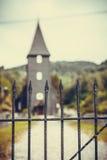 Hamre-Kirche, Insel Osteroy Norwegen Stockbilder