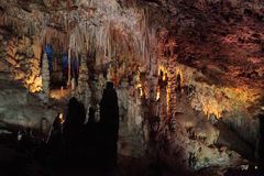 The Hams caves. Mallorca, Spain Royalty Free Stock Images