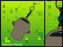 χέρι hamsa Στοκ εικόνα με δικαίωμα ελεύθερης χρήσης