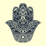 Hamsa2 stock illustrationer