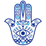 Hamsa amulet Stock Images