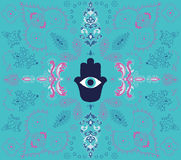 Hamsa background Royalty Free Stock Photo