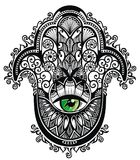 Hamsa decorativo royalty illustrazione gratis