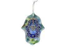 Hamsa hand amulet. Used to ward off the evil eye in Mediterranean countries Stock Photos
