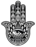 Hamsa hand Royalty Free Stock Images