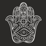 Hamsa hand Stock Photo