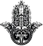 Hamsa, hand of Fatima Stock Photography