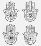 Hamsa. Hand of Fatima. Royalty Free Stock Photos