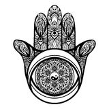 Hamsa Hand Illustration Royalty Free Stock Image