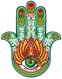 Hamsa hand Stock Photos