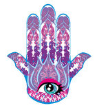 Hamsa hand Stock Photography